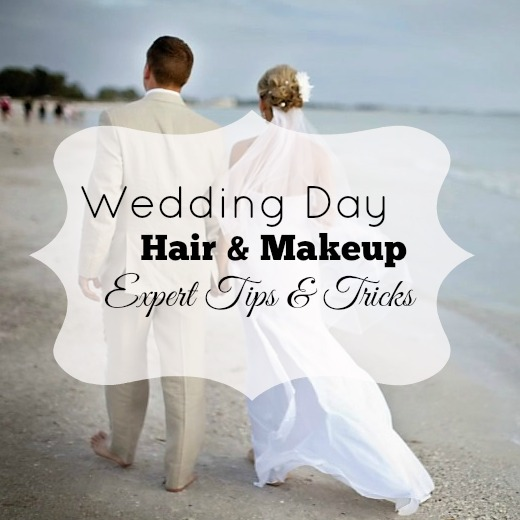 Wedding Day hair and makeup tips and tricks